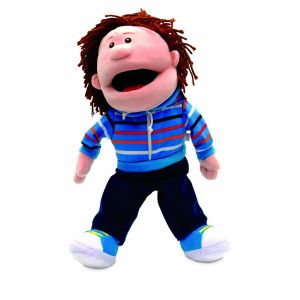 Fiesta Crafts Hand Puppet Boy Moving Mouth
