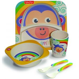 Fisher Price Bamboo Dining Set - Monkey