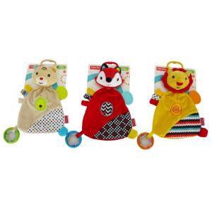 Fisher Price Baby's Dou-Dou Animal Teether Toy
