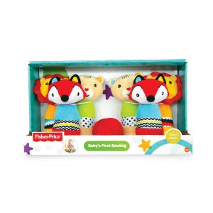 Fisher Price Baby's First Bowling Plush Toy set