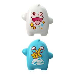Flipper 2 In1 Clumpsy & Glutton Toothbrush Holder