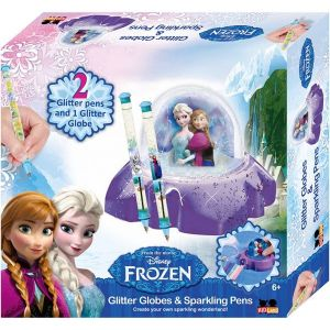 Frozen Glitter Dome and Pens