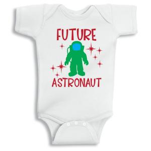 Twinkle Hands Future Astronaut Baby Onesie, Bodysuit, Romper