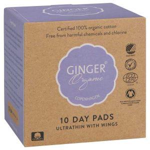 GingerOrganic Day Pads