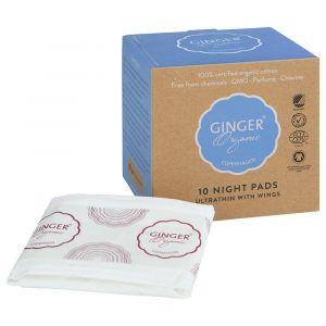 GingerOrganic Night Pads