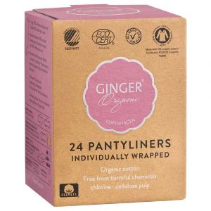 GingerOrganic Pantyliner Individually Wrapped