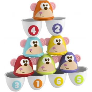 Chicco Fit & Fun Monkey Strike, Stacking game
