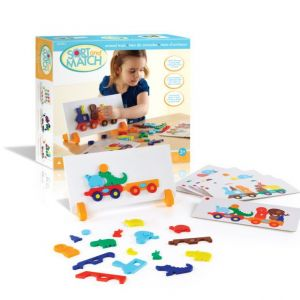 Guidecraft Sort and Match Animal Train Educational Toy