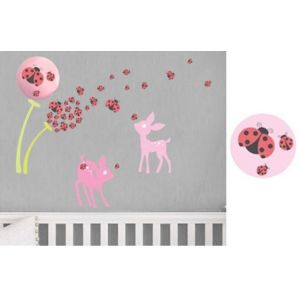 Baby Zoo Timer-based Cordless Wall Decor Light - Fawn