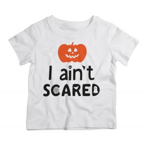Twinkle Hands Halloween I ain't scared Tshirt