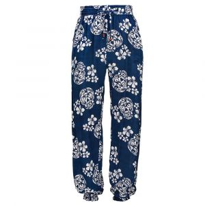 Snapper Rock Navy Sugar Skull Beach Pant
