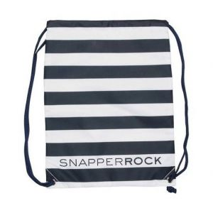 Snapper Navy / White Stripe Rock Swim Bag