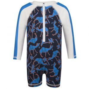 Snapper Rock Neon Camel Ls Sunsuit