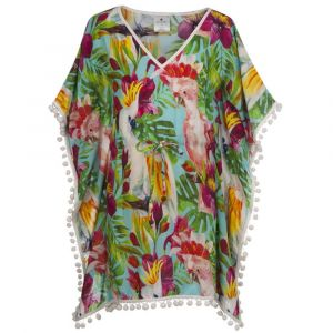 Snapper Rock Tropical Birds Kaftan