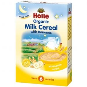 Holle Organic Milk Cereal with Bananas - 250g