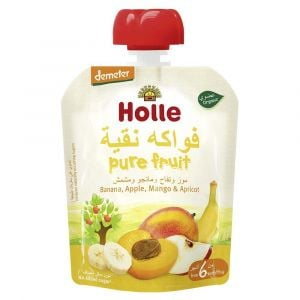 Holle - Pouch Banana, Apple, Mango & Apricot - 90g