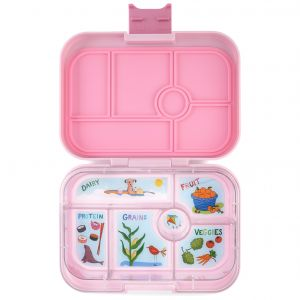 Yumbox Original Hollywood Pink Lunch Box - 6 Compartments