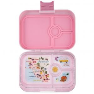 Yumbox Panino Hollywood Pink Lunch Box- 4 Compartments