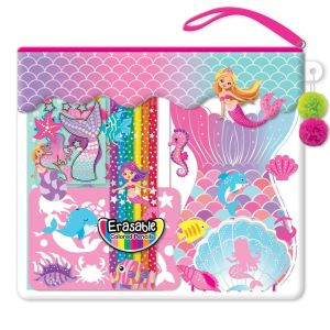 Hot Focus Color-Me Notebook Set - Mermaid