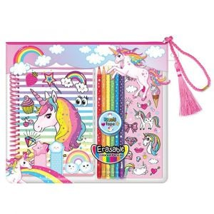 Hot Focus Coloring Journal Set - Unicorn