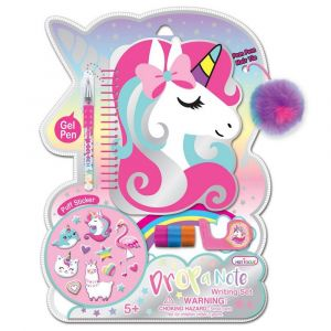 Hot Focus Drop a Note Writing Set - Unicorn