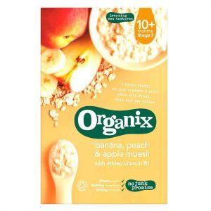 Organix Banana Peach & Apple Muesli - 200g