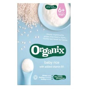 Organix First Organic Wholegrain Baby Rice - 100g