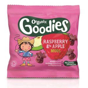 Organix Goodies Fruit Moos Raspberry & Apple - 12g