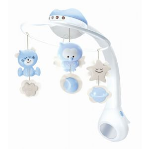 Infantino Blue 3 In 1 Projector Musical Mobile