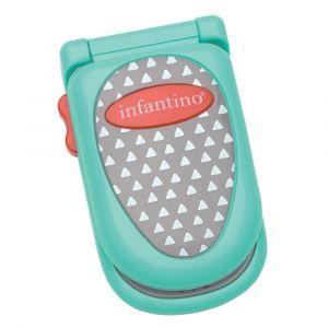 Infantino Flip & Peek Fun Phone - Teal Toy