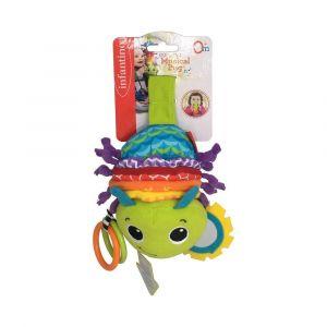 Infantino Hug & Tug Musical Bug Toy