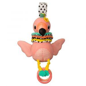 Infantino Hug & Tug Musical Flamingo Toy