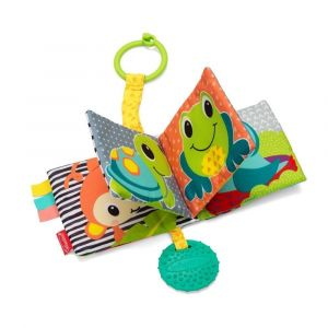 Infantino Link & Crinkle Animal Counting Book Toy