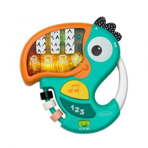 Infantino Piano & Numbers Learning Toucan Toy