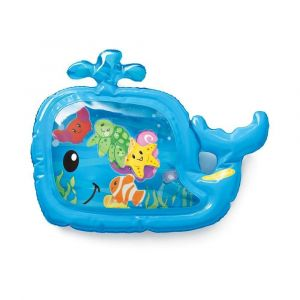 Infantino Sensory - Pat & Play Water Mat - Whale Toy