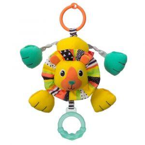 Infantino Shake & Pull Jittery Pal - Lion Toy