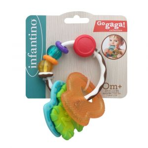 Infantino Slide & Chew Teether Keys Toy