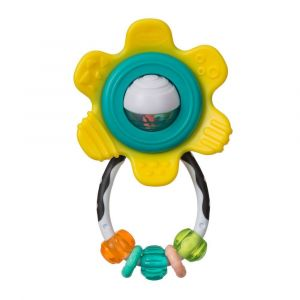 Infantino Spin & Rattle Teether Toy