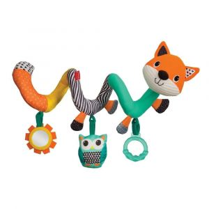 Infantino Spiral Activity Toy - Fox Toy