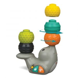 Infantino Stack & Spin Seal Toy