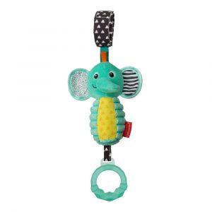 Infantino Take Along Chime - Elephant Toy