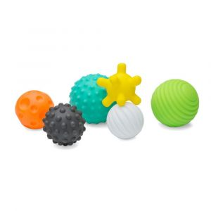 Infantino Textured Multi Ball Set Toy