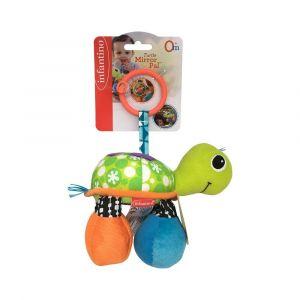 Infantino Turtle Mirror Pal - Green Toy