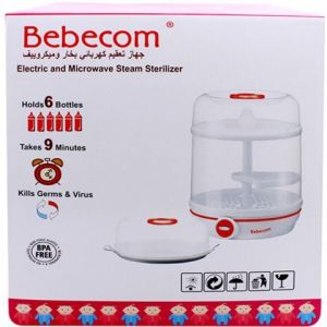 Bebecom Microwave and Steam Bottle Sterilizer