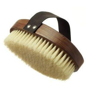 Hydrea London Walnut Wood Brush Natural Bristle