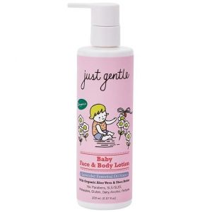 Just Gentle Organic Baby Face & Body Lotion -Lavender Scent