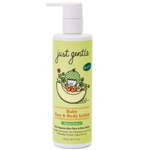 Just Gentle Organic Baby Face & Body Lotion -Melon Scent