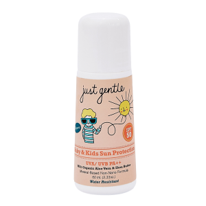 Just Gentle Organic Baby & Kids Sun Protection SPF 50 PA ++ -Roll On