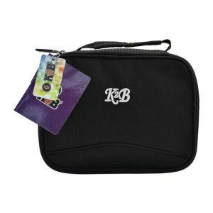 K2B Black Lunch Bag