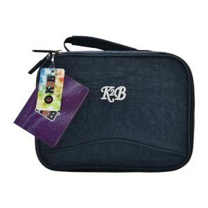 K2B Navy Blue Lunch Bag